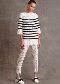 женские брюки тенденции 2015 17