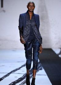 Женские джинсовые бриджи 7