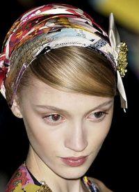 Женские головные платки 1