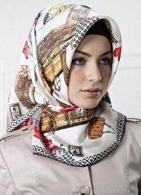 Женские головные платки 2