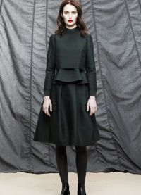 Женский костюм с юбкой 2015 19