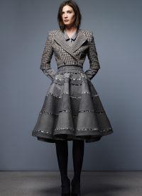 Женский костюм с юбкой 2015 21