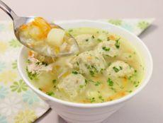 Суп с фрикадельками из фарша рецепт