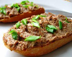 бутерброды с паштетом