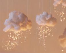 делаем облака из ваты
