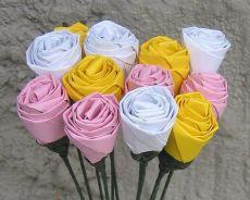 Как сделать из бумаги цветок детям