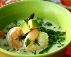 рисовый суп с креветками рецепт
