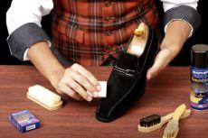 Как восстановить цвет замшевой обуви