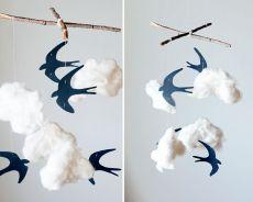 как сделать облака из ваты