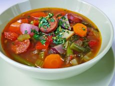 Колбасный суп