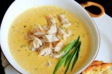 кукурузный суп пюре с курицей