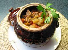 рецепт приготовления мяса в горшочках