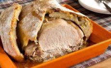 Мясо в тесте