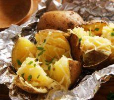 картошка печеная в духовке в кожуре в фольге