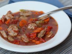 немецкий колбасный суп