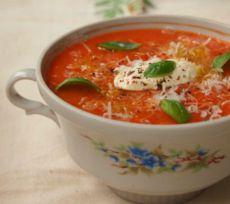 суп пюре со сладким перцем