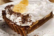шоколадно банановый десерт