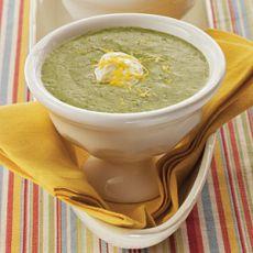 Суп пюре на курином бульоне