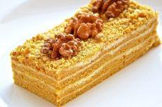 торт медовый на сковороде рецепт