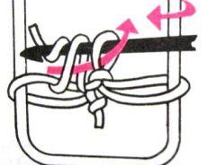 уроки вязания на вилке