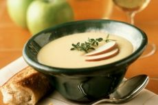 яблочный суп