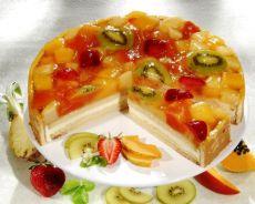 Торт на йогурте фруктовом