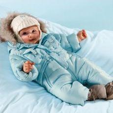 Выкройка детского зимнего комбинезона трансформера