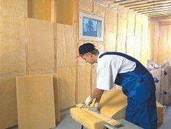 Какие есть утеплители для стен внутри дома