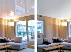 Натяжные потолки матовые или глянцевые что лучше