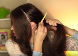 Прическа с кудрями на длинные волосы