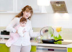 Диета после родов для кормящей мамы