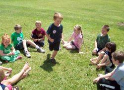 Игры на свежем воздухе в летнем лагере