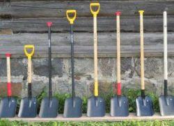 Из чего состоит лопата