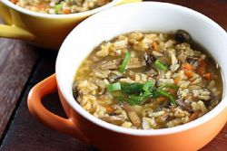 Рецепт супа из замороженных белых грибов