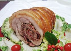 рулет из свининой грудинки в духовке рецепты