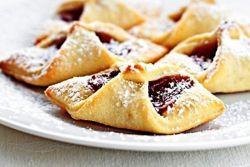 рецепт быстрого печенья с вареньем