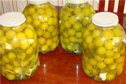 With рецепт как оливки Маринованная алыча Super Bet