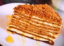 Как сделать крем для медового торта