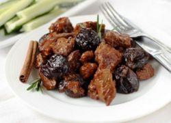 тушеное мясо с черносливом рецепт