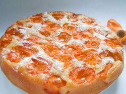 пирог с абрикосами на кефире в мультиварке