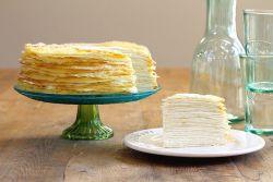 Сметанный крем для блинного торта
