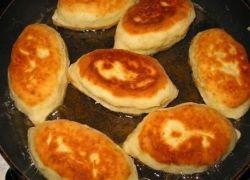 тесто для жареных пирожков на сметане