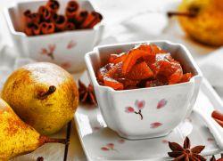 Варенье грушевое с лимоном и корицей