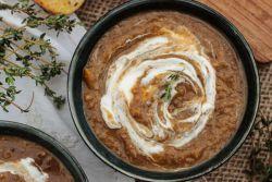 Грибной суп из белых грибов – рецепт