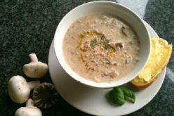 Грибной суп из белых грибов с шампиньонами и вешенками – рецепт