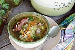как сварить гороховый суп с копчеными ребрышками