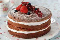Тортик из готовых коржей