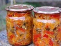 солянка на зиму из капусты и помидоров