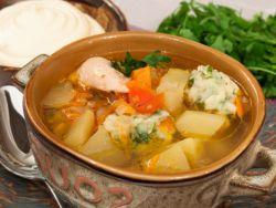 вкусные клецки для супа