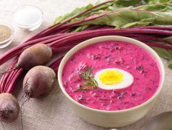 рецепт свекольника холодного с мясом